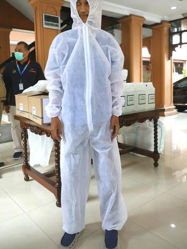 Harga baju apd alat pelindung diri hazmat lengkap Bandung Jawa Barat