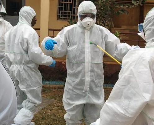 Harga baju apd alat pelindung diri hazmat lengkap Manado Sulawesi Utara
